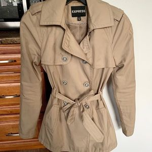 Beige Express Trench Coat